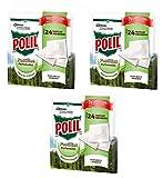 Polil Raid - Pastillas Perfumadas Antipolillas con Aroma Paseo por el Bosque (Pack de 3, 72 pastillas)