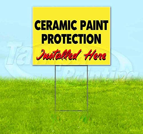 Ceramic Paint Protection Installed HERE Recommended 24 x Yellow Topics on TV 18