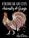 Colorear Adultos Animales de Granja: Mandalas de Colorear para Adultos | Caballos | Cerdos | Conejos | Patos | Gatos Paisajes ...