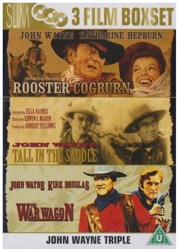 Rooster Cogburn / Tall In The Saddle / The War Wagon [Import anglais]