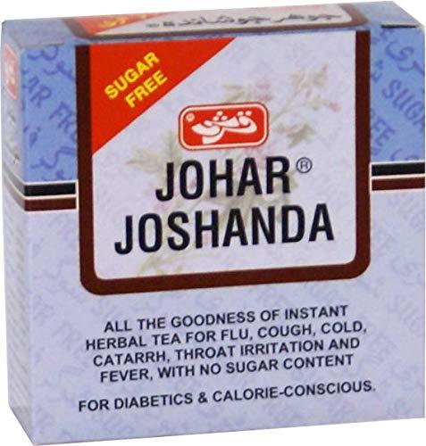 Qarshi Johar Joshanda Tea - Flu Remedy & Herbal Cold 60 Pcs x 5g / Sugar Free