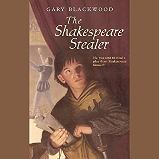 The Shakespeare Stealer audiobook cover art