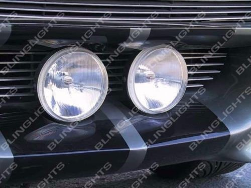 BLINGLIGHTS Large Grille Driving Lights Kit for Ford Mustang Eleanor Shelby GT-500 Fastback