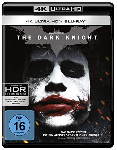 The Dark Knight (4K Ultra HD + 2D-Blu-ray) (2-Disc Version) [Blu-ray]