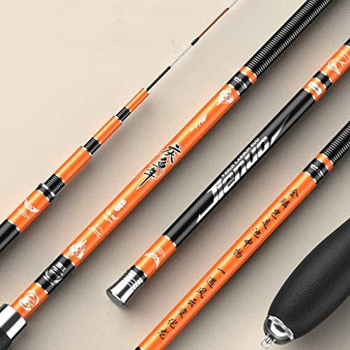 LJXLXY Fishing Rod Holder Crucian Carp Rod Fishing Rod Hand Rod Carbon Ultra-Light Ultra-Hard Ultra-fine Fishing Rod Fishing Rod and Reel Combo (Size : 4.5meters)