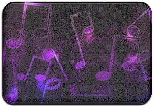 Purple Music Notes Doormats for ...