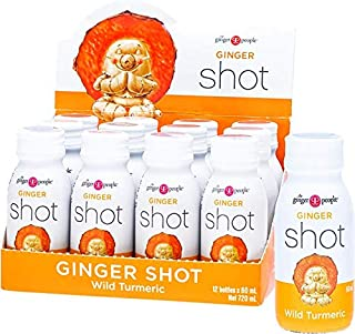 The Ginger People Ginger Shot Wild Turmeric, 12 x 720 ml