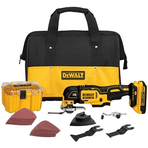 DEWALT 20V MAX XR Oscillating Tool Kit, Brushless,...