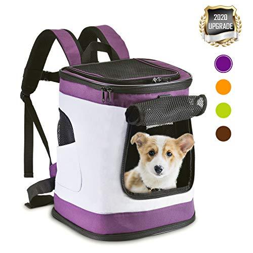 HAPPY HACHI Mochila Plegable para Perros Gatos...