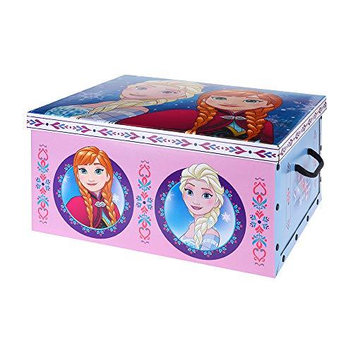Caja aLmacenaje infantil de carton modelo frozen