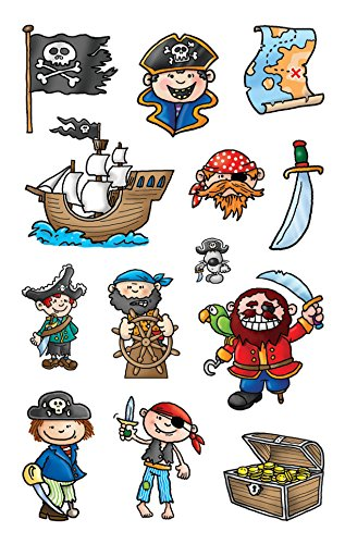AVERY Zweckform 53197 Kinder Sticker Piraten 39 Aufkleber