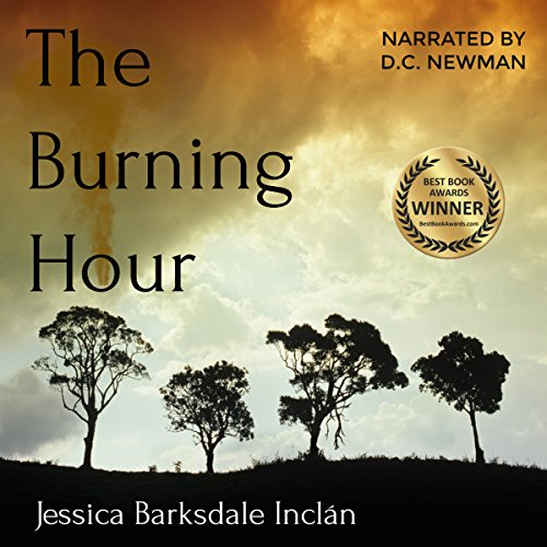 The Burning Hour audiobook cover art