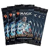 Magic: The Gathering - Pack de 6 boosters edición de Base 2021 (90 Tarjetas)