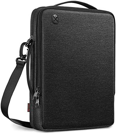 FINPAC 13 Inch Laptop Shoulder Bag for 13 3 Inch MacBook Pro Air iPad Pro 12 9 Bag Water Resistant product image