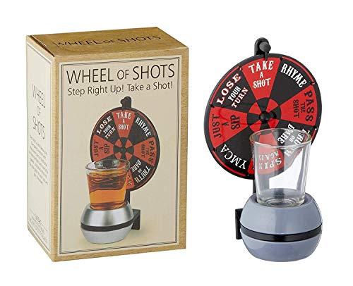 Takestop® drinkglas met wielen, voor tafels, feesten, dranken, games