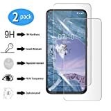 yueer [2 Piezas Nokia X71/8.1 Plus Protector de Pantalla,[ 9H Dureza ][Alta Definicion] Cristal Templado Nokia X71/8.1 Plus.