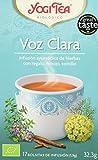Yogi Tea Voz Clara - Paquete de 6 x 17 Sobres - Total: 102 Sobres