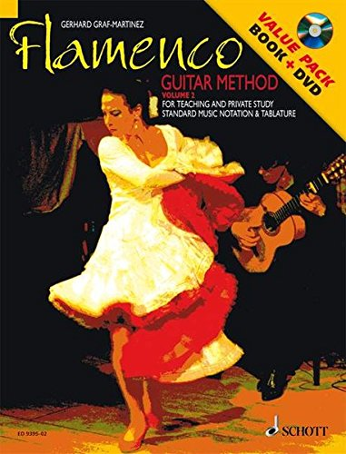 Flamenco Guitar Method, Volume 2: For Teaching and Private Study Standard Music Notation & Tablature