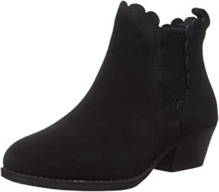 Women's Lasso-Diver-Short Scalloped Trimmed Chelsea Boot