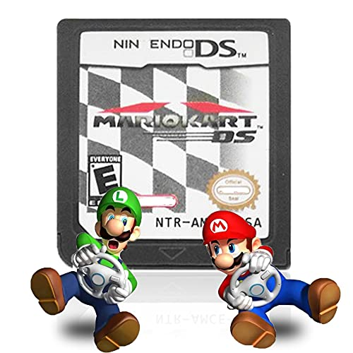 Mario Kart DS Game Card, for DS 2/3DS NDSI NDS NDSL Lite, Multi Colors...