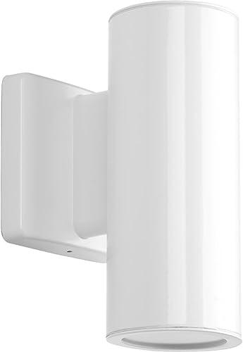 2021 Progress sale Lighting wholesale P563001-030-30K Cylinders Outdoor, White sale