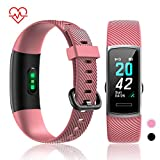 TOTOBAY Montre Connectée Bracelet Connecté, Tracker d'Activité Podometre Cardio...