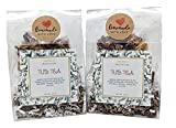 Tub Tea Natural & Organic Floral with Bath Salts- Handmade Herbal Soak for Relaxation & Muscle Relief! Self Soothing Bath Treatment! These Tub Tea Herbal Bath Bags Make Great Gifts! (Pack of 2)