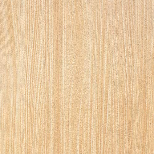 "Wood Grain Peel and Stick Film for Cabinets Shelves Drawers Self-Adhesive Panel for Kitchen Removable Faux Mapel Wood Textured Decal Peel and Stick Wallpaper Vinyl Decorative Roll 17.7""x78.7'"