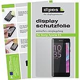 dipos I 2X Schutzfolie matt kompatibel mit Sony Xperia E5 Folie Bildschirmschutzfolie