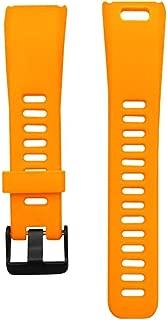 Garmin Vivosmart - Vivosmart HR Uyumlu Markacase Silikon Kordon (Garmin Vivosmart, Sarı)