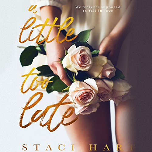 A Little Too Late audiobook cover art