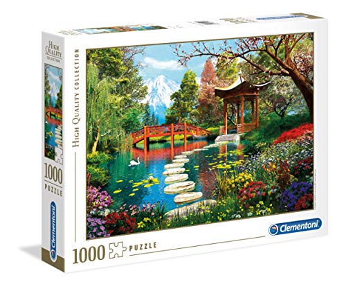 Clementoni - 39513 - High Quality Collection Puzzle - Fuji Garden - 1000 Pezzi - Made In Italy - Puzzle Adulto