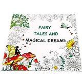 Huyiko 25 x 25 cm Cuentos de hadas y relucientes mágicos para niños y adultos