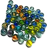 VARIOUS STYLE - Our glass marbles have multiple colors, bright and vivid, lustrous and shiny. Great for playing and decorating PREMIUM QUALITY - Our assorted marbles are made from high-grade glass, firm and sturdy, smooth with a nice finish, durable ...