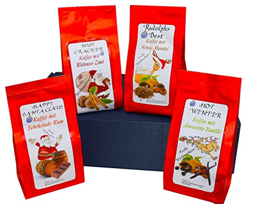 Weihnachtliches Geschenk Set aromatisierter Kaffee