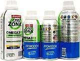 Enerzona Omega 3RX1gr |EPA 400 mg+DHA 200 mg| 240capsulas + Regalo 60capsulas.- PACK 2UN