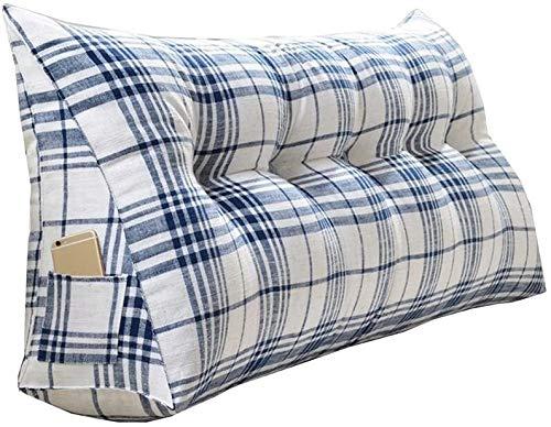 Almohadas de Lectura Triangular cuña de la cama del respaldo de la almohadilla de apoyo de lectura del sofá de la almohadilla de la cintura Soporte lumbar liberación de presión Inicio Decoración del d