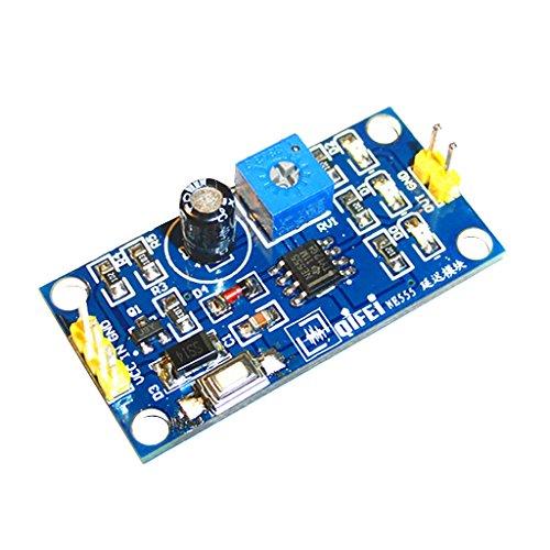 FLAMEER Retard D'équipement De Véhicule De Relais Réglable du Retard 0-120s De Module Bleu De NE555