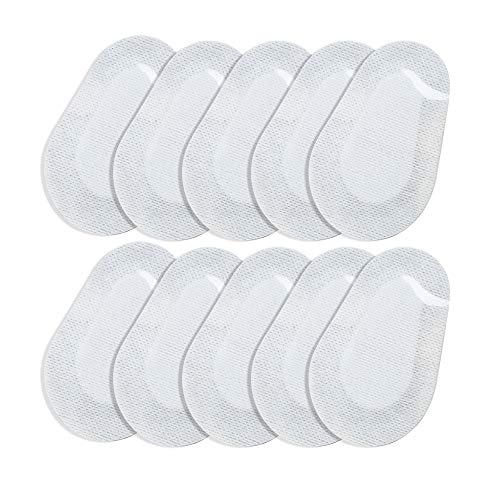 Eye Pads,Fencia 10 Pcs Sterile Oval-Shaped Eye Pads, First Aid Eye Patch Eye Care Dressing Wound Care 3.5