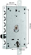 Deurslot Omega Plus, ingang 65, serie MOTTURA, asafstand 108 mm, dubbel-mechanisme, 5 ontlaadgrendels 3 mm as 28 mm, 4 sle...