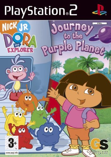 Dora The Explorer: Journey To The Purple Planet (PS2) by Take 2