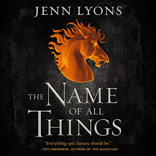 Couverture de The Name of All Things