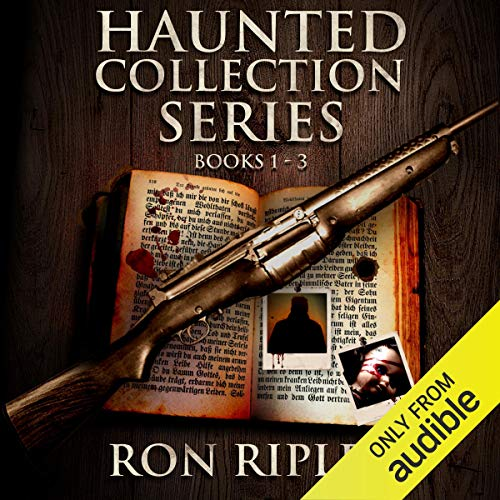 Haunted Collection Series, Books 1 - 3 audiobook cover art