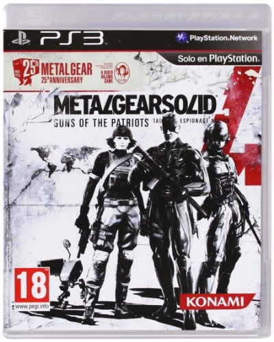 Metal Gear Solid 4 - 25th Anniversary Edition