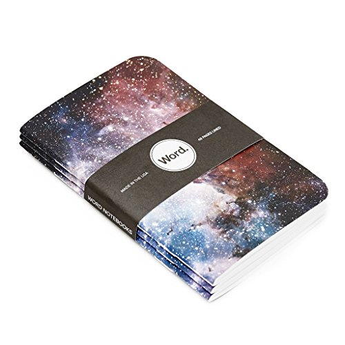 Word. Notebooks Intergalactic - 3-Pack Small Pocket Notebooks Photo #4