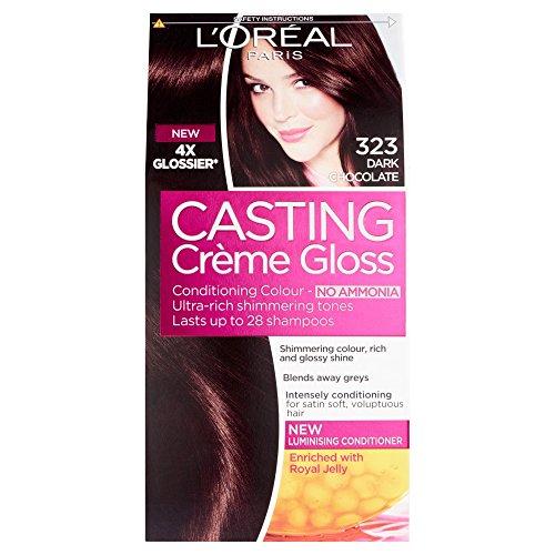 Casting Creme Gloss de L'Oreal Paris 323 Chocolat Noir / Noirs Glossy