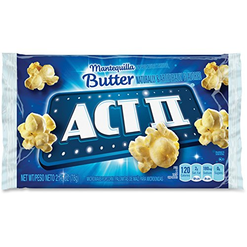 Best Bargain Act II 23223 Microwave Popcorn 2.75oz. 36/BX Butter