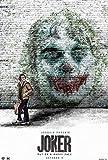 wtnhz Sin Marco Film Joker Joaquin Phoenix Stampa artistica Poster Seta o Tela soggiorno Camera da letto Pittura Decorativa 40x60cm