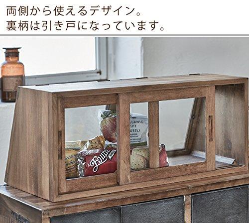 萩原『カウンター上ガラスケース』
