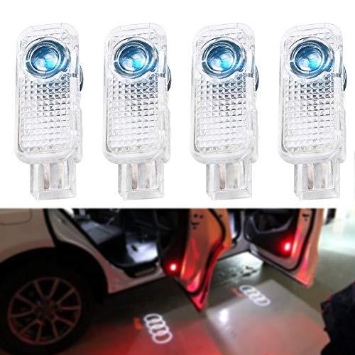 LEHXZJ Autotür Logo Türbeleuchtung Willkommen Licht Einstiegsbeleuchtung 4 Stück